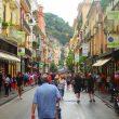 Einkaufstrasse in Sorrento